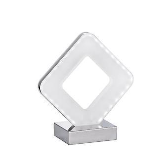 Wofi Pori - LED 1 Lampe de table légère Chrome - 808201015000