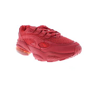 Puma Cell Venom Red 37055401 Mens Suede Mesh Casual Low Top Sneakers Shoes