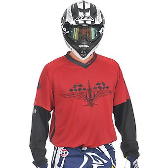 Troy Lee Designs Red 2011 GP Hotrod MX Jersey