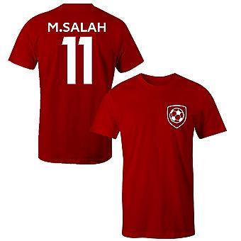 Mohammed Salah 11 Liverpool Style Player T-Shirt