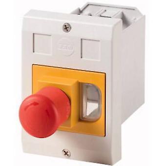 Kabinett fordypningen montering, + Kill bryter grå, rød, gul Eaton E-PKZ01-PVT 1-PC (er)