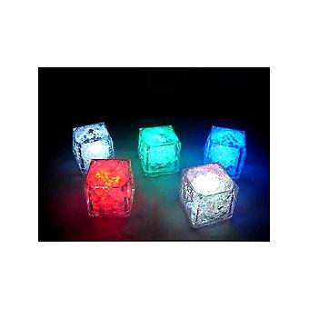 Blinkende Mehrfarbige leuchten Eiswürfel