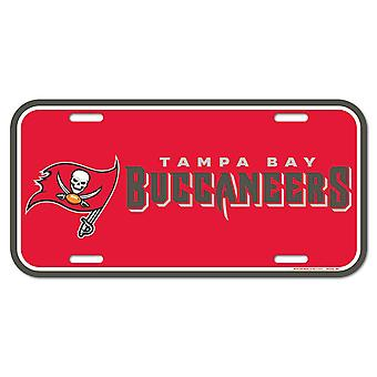 Wincraft NFL License Plate - Tampa Bay Buccaneers