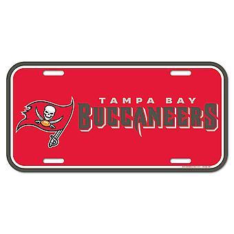 Wincraft NFL Kennzeichenschild - Tampa Bay Buccaneers