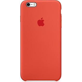 Original packaging Apple MKXQ2ZM/A Silicone Cover for iPhone 6 / 6S Plus in orange