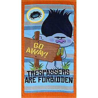 Trolls Trespassers Cotton Towel