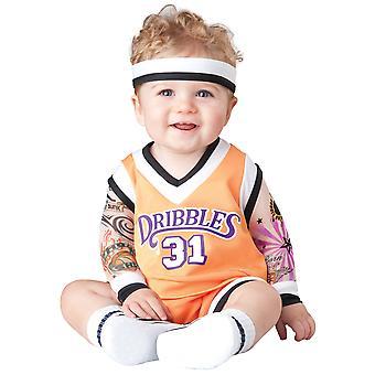 Double Dribble Basketball Player Sport Slam Dunk Toddler Boys Costume
