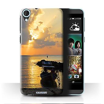 STUFF4 Case/Cover for HTC Desire 820s Dual/Boat/Sunrays/Thailand Scenery