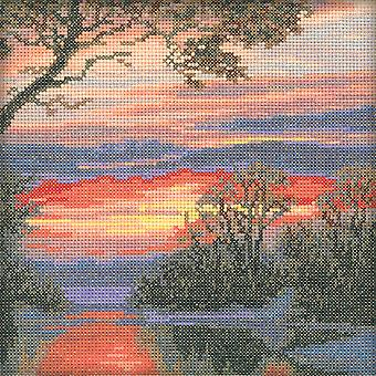 Morning Counted Cross Stitch Kit-6