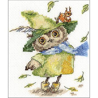 Leaf Fall Counted Cross Stitch Kit-6