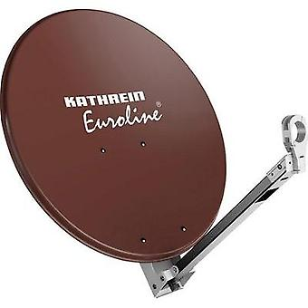 SAT antenna 65 cm Kathrein KEA 650 Reflective material: Aluminium Red brown