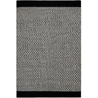 Rugs - Belle Black & Off White - BEL03