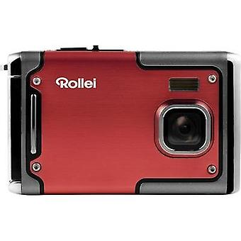 Digital camera Rollei SPORTSLINE 85 8 MPix Red Full HD Video, Shockproof, Underwater camera