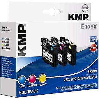 KMP Ink replaced Epson T2715, 27XL Compatible Set