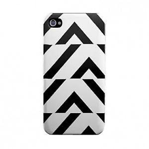Lady Gaga cover distortion iPhone 4 / 4s in black/white