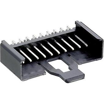 Lumberg 2.5 MSFW 12 Mini Module Multi-pin, Angled With locking latch Number of pins: 12