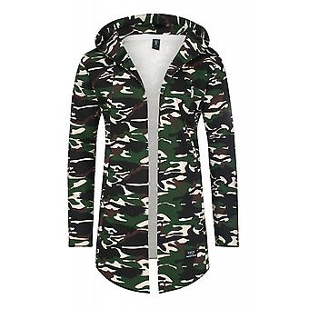 Spartans history oversize Cardigan jacket jacket men's sweat jacket green SHCAMO2