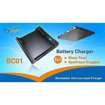 Charger for Black Pearl battery + Power supply for SpeXman One
