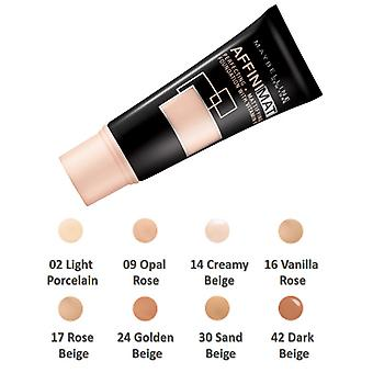 Maybelline Affinimat Perfecting + Mattifying Foundation SPF17 30ml Choose Shade
