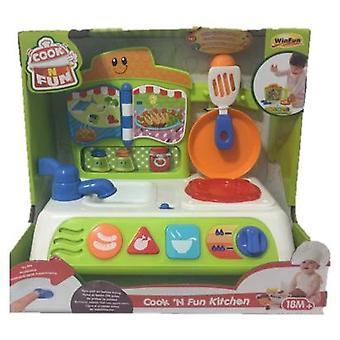 WinFun Private kitchen (Babies , Toys , Skill Development , Interactive)