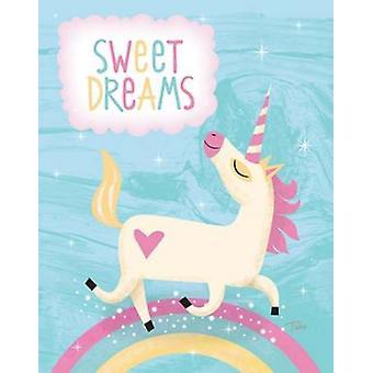 Unicorn I Poster Print by Teresa Woo