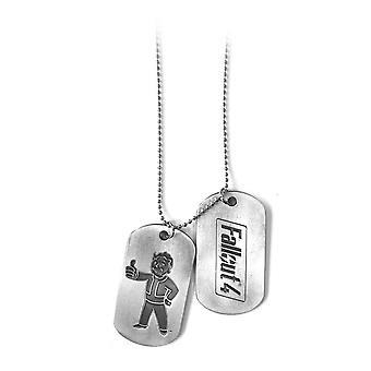 Fallout 4 Unisex Vault Boy Thumbs Up Dogtags Einheitsgröße Silber/Metall (JE270801FOT)