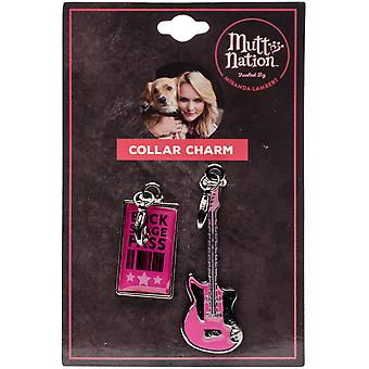 Miranda Lambert's Mutt Nation Dog Charm Set-Backstage Pass FP8785ST