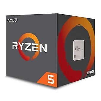 AMD Ryzen 5 1600 CPU with Wraith Cooler, AM4, 3.2GHz (3.6 Turbo), 6-Core, 65W, 19MB Cache, 14nm
