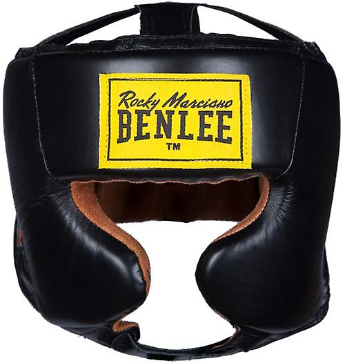 William leather head guard Tyson