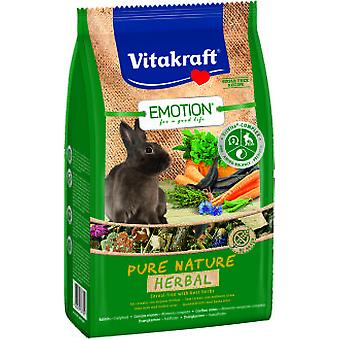Vitakraft Pure Emotion menu Rabbits Dwarves Nature Herbal 600 gr.