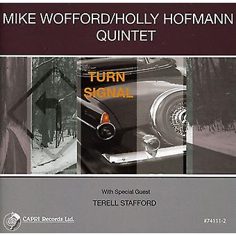 Mike Wofford & Holly Hofmann Quintet - Turn Signal [CD] USA import