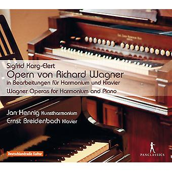 Karg-Elert / Hennig / Breidenbach - Wagner-operaer for Harmonium & Piano [CD] USA import