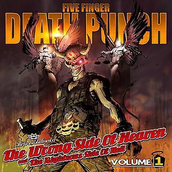 Fem Finger Death Punch - fem Finger Death Punch: Vol. 1-forkerte Side af himlen & retfærdige Side O [CD] USA importen