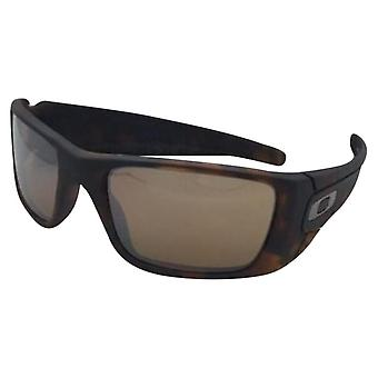 Oakley Fuel Cell Matte Tortoise/Tungsten Iridium Mens Sunglasses - OO9096-9096H5