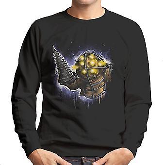 O paizão retrato Bioshock camisola homens