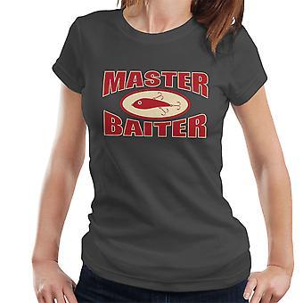 Master Baiter Fishing Pun Women's T-Shirt