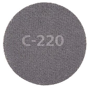 Wolfcraft 5 sanding discs adhesives, woven grid silicon carbide, silicon carbide, grit 120
