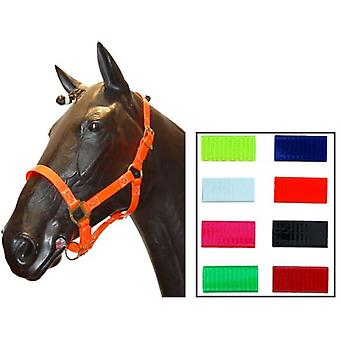 Biothane Orange Cob Bridle Cuadra