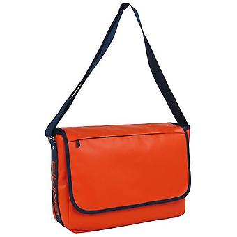 Skimp Skimp Luggage Messager Blue-Orange (Fashion accesories , Bags , Shoulder Bags)