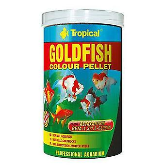 Tropical Goldfish Color Pellet 1000 Ml (Fish , Food , Warm Water)