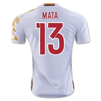 2016-2017 Spain Adidas Away Shirt (Mata 13) - Kids