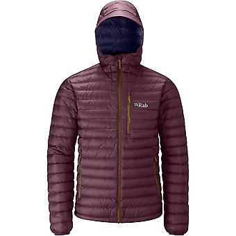 Rab Mens Microlight Alpine Jacket Rococco/ Deep Ink (Small)
