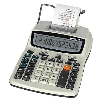 Leo 1222E table calculator with power supply