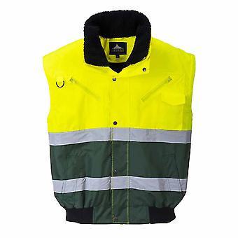 Portwest - X Hi-Vis Safety Workwear Bomber Jacket