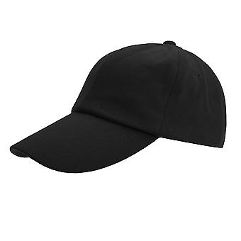 Result Childrens/Kids Plain Low Profile Heavy Brushed Cotton Baseball Cap