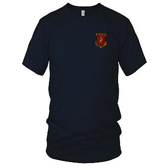 USMC Marines HMM-362 Metal Shop Ghenghis Troopies - Military Vietnam War Embroidered Patch - Mens T Shirt