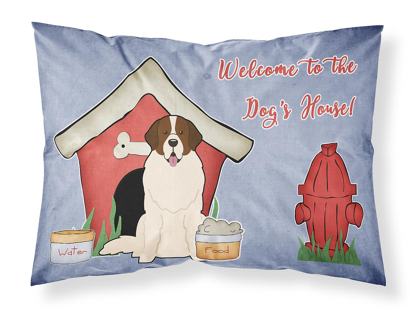 Moscou Tissu Dog House Taie D'oreiller Standard Watchdog Collection wPlOiTkXZu