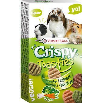 Versele Laga Crispy Toasties For All Rodents (Small pets , Treats)