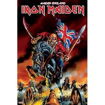 Iron Maiden - Maiden England Poster Plakat-Druck