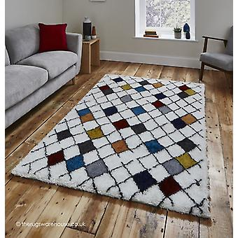 Broadway Tribal Cream Rug